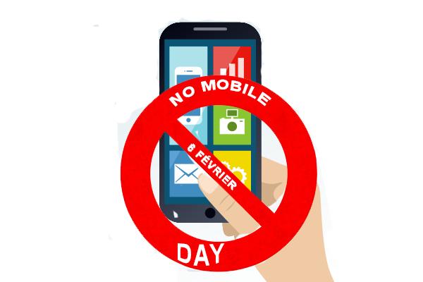 6 Février: La journée sans téléphone portable ou smartphone