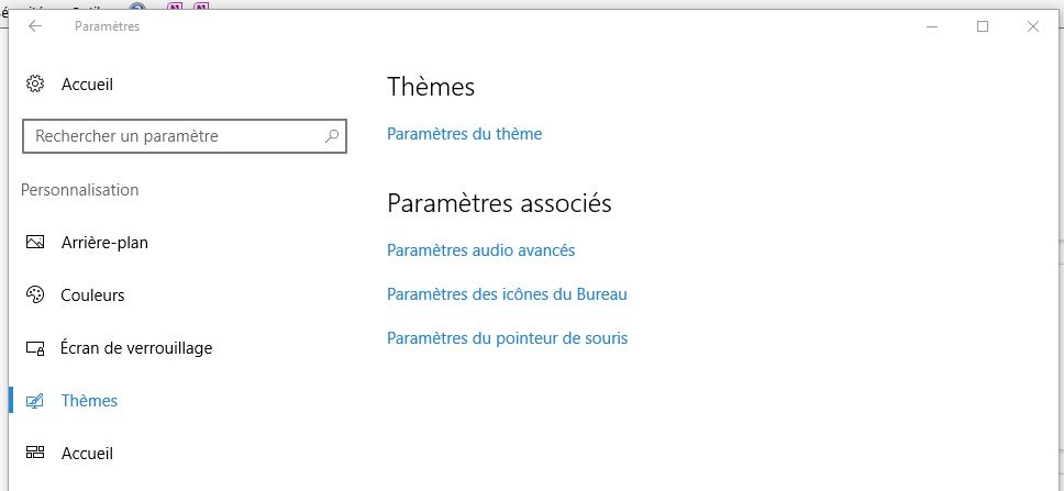 tutoriel windows 10 afficher les l ments sur le bureau. Black Bedroom Furniture Sets. Home Design Ideas