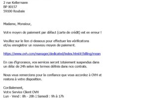 mail spam ovh